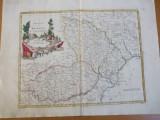 Moldova si Valahia Principatele 1789 Veneția Antonio Zatta hartă color 013