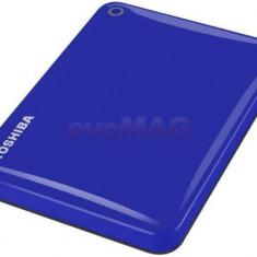 HDD Extern Toshiba Canvio Connect II, 2.5 inch, 1TB, USB 3.0 (Albastru)