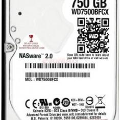 HDD Laptop Western Digital Red WD7500BFCX, 750GB, SATA III, 16MB Buffer, 2.5inch
