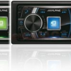 Player CD auto Alpine CDE-178BT, 4x50W, USB, Bluetooth, iluminare taste in 4 culori - CD Player MP3 auto