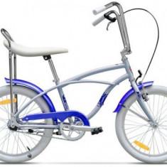 Bicicleta Pegas Strada Mini 1S 2017, Cadru 13inch, Roti 20inch (Bleu) - Bicicleta copii