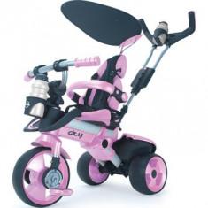 Tricicleta pentru copii Injusa City Purple - Tricicleta copii