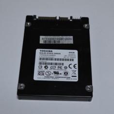 "SSD Toshiba 2.5"" 64GB SATA-2, 3Gb/s, 100% LIFE, 41-80 GB, SATA2"