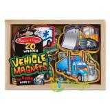 Vehicule cu magneti 2 ani+ Melissa and Doug