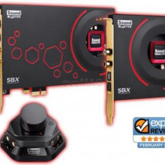 Placa de sunet Creative Sound Blaster ZxR, PCI-E x1 - Placa de sunet PC