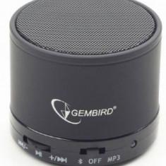 Boxa Portabila Gembird SPK-BT-03, Bluetooth, 3 W (Negru)
