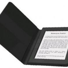 E-Book Reader Bookeen SAGA, Ecran Multi-touch capacitive touchscreen E-Ink 6inch, Procesor 1GHz, 8GB Flash, Wi-Fi + Husa silicon inclusa (Negru)