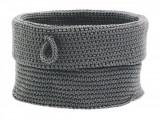 Cos tricotat pentru depozitare Roll Ø 19 cm, Zone