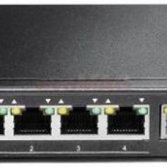 Switch Edimax ES-5104PH, 5 porturi, 4 x PoE+