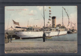 CONSTANTA  VAPORUL  ROMANIA   EDITURA  AD. MAIER & D. STERN  CIRCULATA 1911