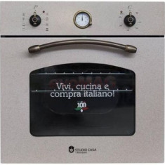 Cuptor incorporabil Studio Casa B 244 SA/E Avena, 54L, Clasa A, Argintiu