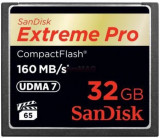 Card de memorie SanDisk Compact Flash Extreme Pro 32GB, 160MB/s