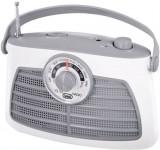 Radio Portabil Vintage Trevi RA 763 (Alb)