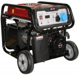Generator Curent Electric Senci SC6000E, 5500W, 230V, AVR inclus, Motor benzina, Demaraj electric