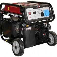 Generator Curent Electric Senci SC6000E, 5500W, 230V, AVR inclus, Motor benzina, Demaraj electric