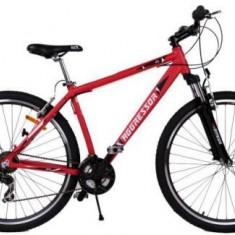 Bicicleta Omega Aggressor, Roti 26inch, 21 viteze (Rosu) - Bicicleta de oras