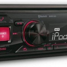 Player auto Alpine UTE-72BT, 4x50W, USB, Bluetooth, iluminare taste Rosu - CD Player MP3 auto