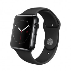 Apple Watch 3, GPS, Carcasa Space Grey Aluminium, Aluminiu, 42mm, Gri