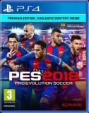 Pro Evolution Soccer 2018 Premium Edition (PS4), Konami