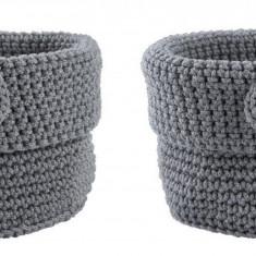 Set 2 cosuri tricotate pentru depozitare Roll Ø 11 cm, Zone