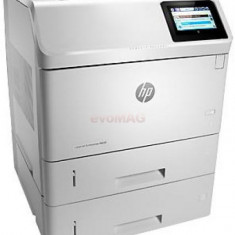 Imprimanta laser alb-negru HP LaserJet Enterprise M605x, A4, 55 ppm, Duplex, Retea, Wireless, NFC, ePrint, AirPrint
