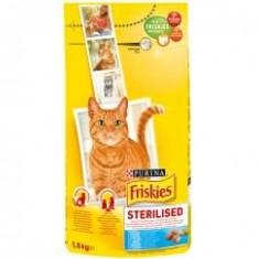 Friskies Dry 1.5 kg Sterile - Hrana pisici