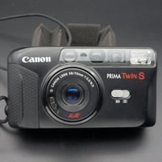 Aparat foto automat cu film Canon Prima Twin S - Aparate Foto cu Film