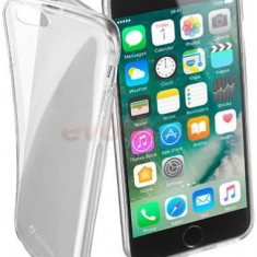 Protectie spate Cellularline FINECIPH747T pentru Apple iPhone 7 (Transparent) - Husa Telefon
