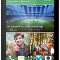 Telefon Mobil HTC Desire 510, Procesor Quad-core 1.2 GHz Cortex-A53, Capacitiv touchscreen 4.7inch, 8GB Flash, 1GB RAM, 5MP, Wi-Fi, 4G, Android (Gri)