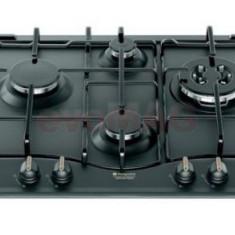 Plita incorporabila HOTPOINT ARISTON PC 640 T AN R, 4 arzatoare, Aprindere, Siguranta, 60 cm (Negru)