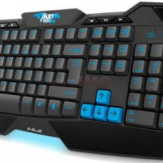 Tastatura Gaming E-Blue Mazer Type-G Advanced (Neagra) - Tastatura PC