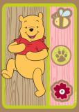Covor Disney Kids Winnie Brown, Imprimat Digital