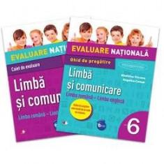 Evaluare nationala Limba si comunicare cls 6 limba romana-limba engleza - Madalina Vincene - Manual scolar