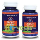 Pachet Zeolit Detox+ 60cps+30cps Promo