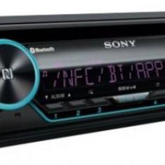 Radio CD Auto Sony MEXN5200BT, 4x55W, USB, AUX, NFC, Bluetooth, iluminare taste Variabila - CD Player MP3 auto
