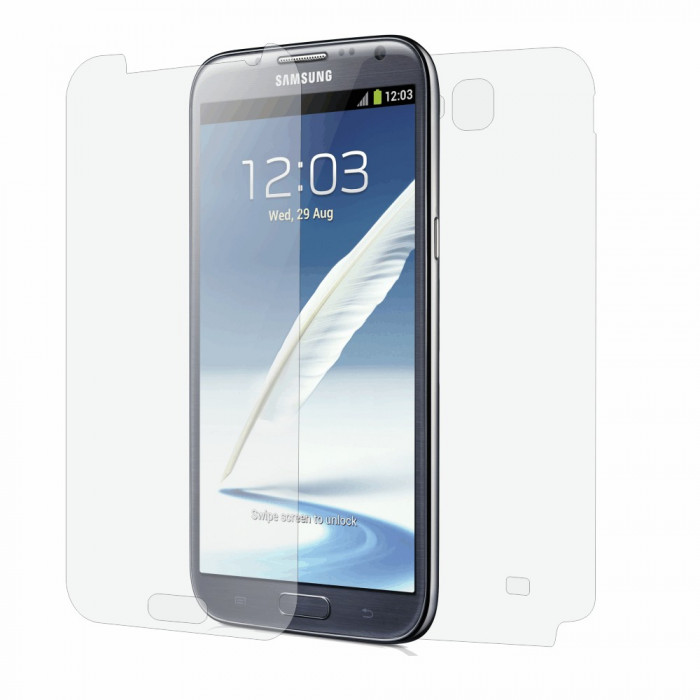 Folie de protectie Clasic Smart Protection Samsung Galaxy Note 2 foto mare