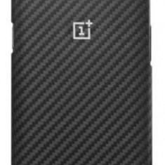 Protectie Spate OnePlus pentru OnePlus 5, Carbon (Negru) - Husa Telefon