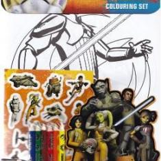 Star Wars Rebels, Colouring set. Set de colorat, Razboiul stelelor