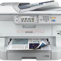 Multifunctional Epson WorkForce Pro WF-8510DWF, inkjet, Fax, A3+, 34 ppm A4, Duplex, ADF, Retea, Wireless - Multifunctionala