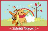 Covor Disney Kids Winnie Friends Forever, Imprimat Digital