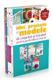 Pachet: Idei, proiecte si modele de crosetat si tricotat pentru garderoba si casa ta