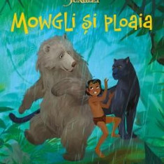 Disney Cartea Junglei - Mowgli si Ploaia - Carte educativa