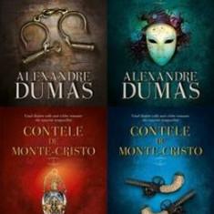 Pachet Contele de Monte-Cristo vol.1-4 - Alexandre Dumas