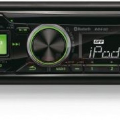 Player CD auto Alpine CDE-173BT, 4x50W, USB, Bluetooth, iluminare taste Verde/Rosu - CD Player MP3 auto