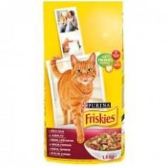Friskies Dry 1.5 kg Vita&Ficat - Hrana pisici
