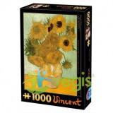 Puzzle 1000 Vincent Van Gogh - Sunflowers