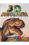 3D Dinozauri (poster + ochelari)