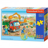 Puzzle 120 Castorland - Construction Works