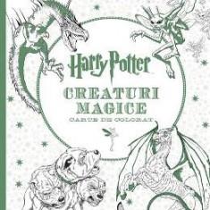 Harry Potter. Creaturi magice - Carte de colorat