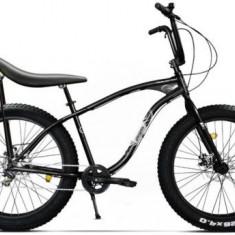 Bicicleta Pegas Cutezator EV Banana, Cadru 17inch, Roti 26inch, 7 Viteze (Negru) - Bicicleta de oras